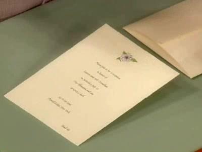 video wedding invitations etiquette  martha stewart, Wedding invitations
