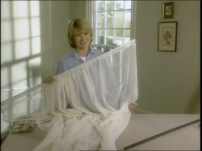 Video: Knit Mesh Sheer Panel Curtains | Martha Stewart