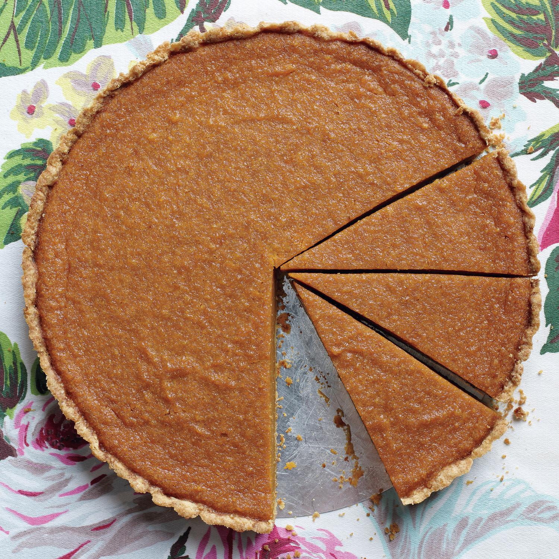 Maple-Pumpkin Tart Recipe | Martha Stewart
