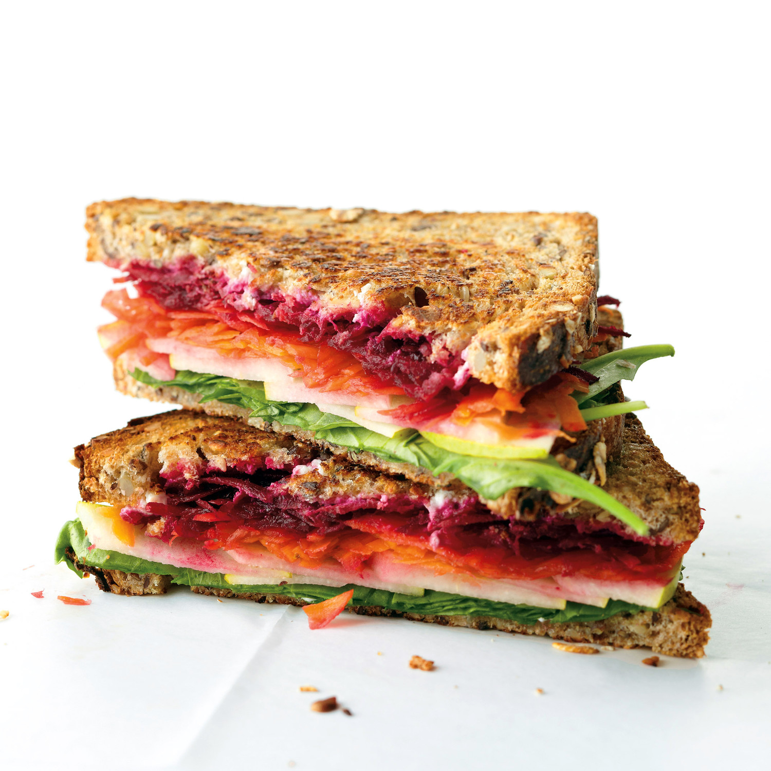 Goat Cheese And Vegetable Sandwich Recipe Martha Stewart