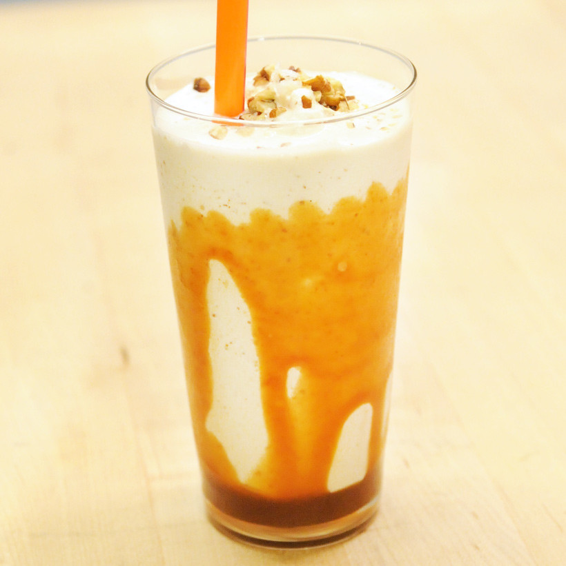 Salted Caramel-Pecan Shake                  I'm in the mood for: