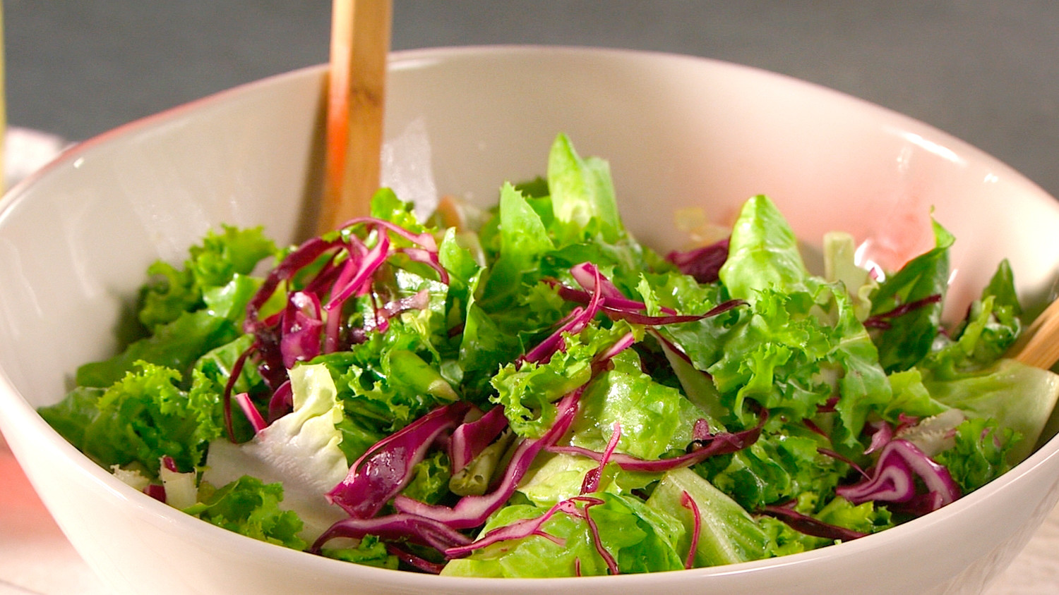 Chicory Red Cabbage And Escarole Salad Recipe Martha