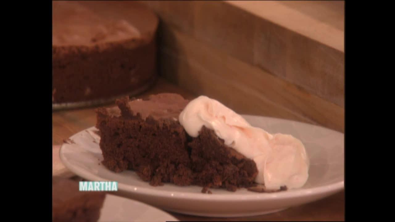 Flourless Chocolate Cake Recipes Martha Stewart