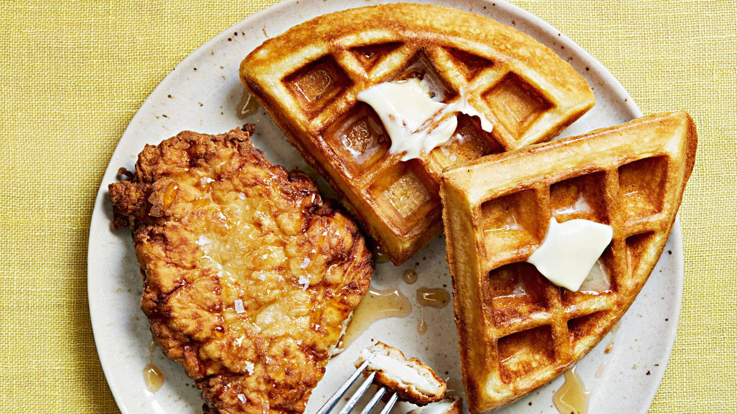 Quick Fried Chicken And Waffles