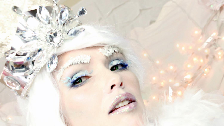 Frozen Snow Queen Halloween Makeup Tutorial By Kandee