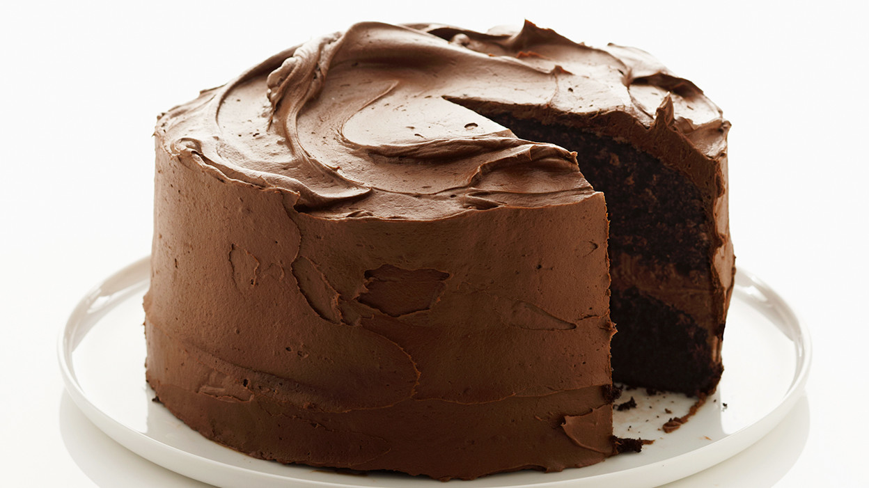 Chocolate Icing For A Chocolate Cake