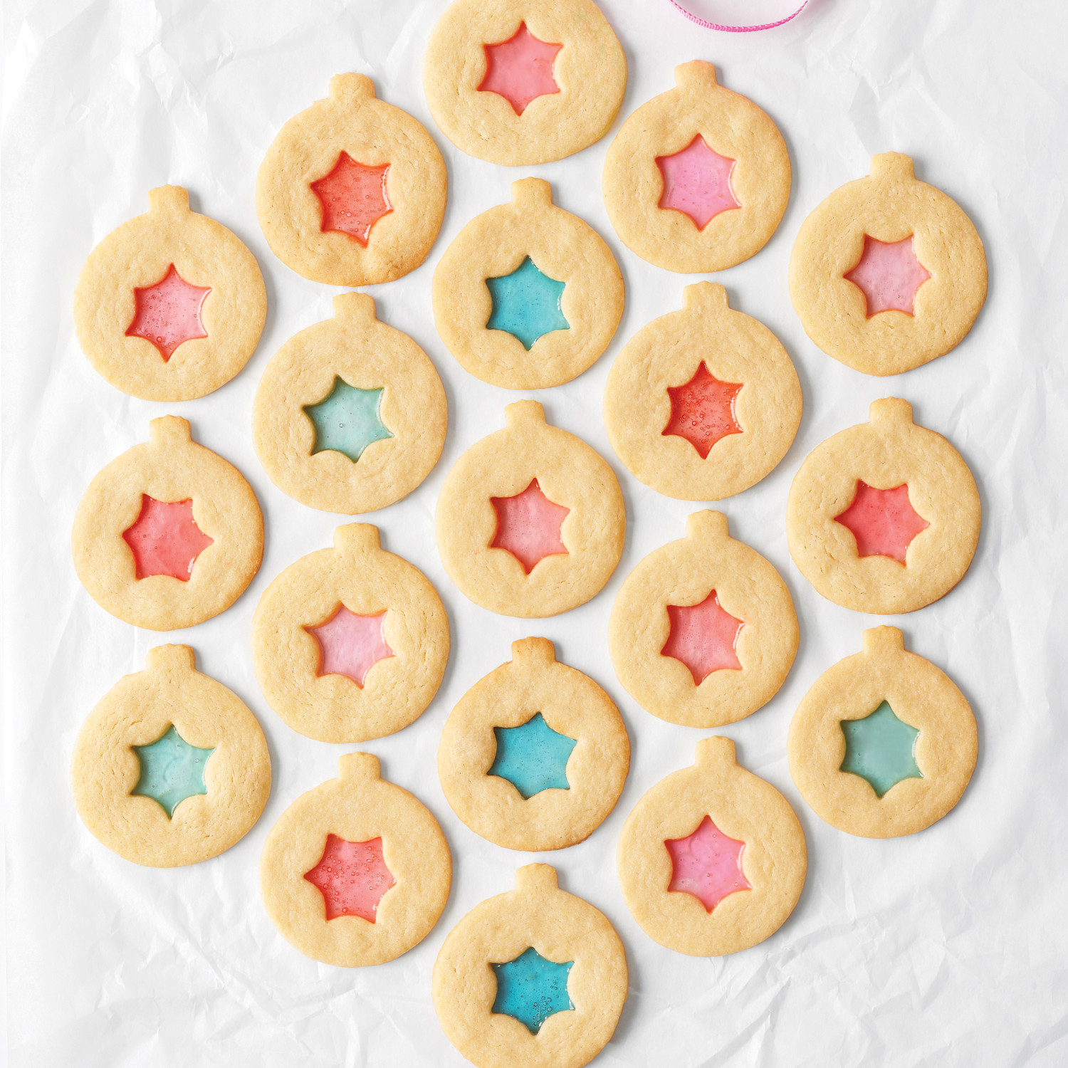 Stained glass cookie recipes