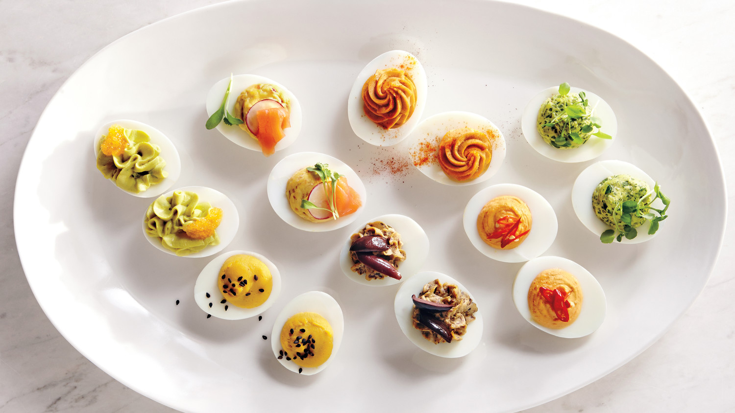 Deviled eggs our definitive recipes martha stewart