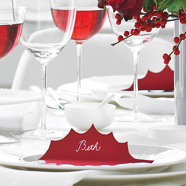 Clip Art And Templates For Christmas Table Decorations Martha Stewart