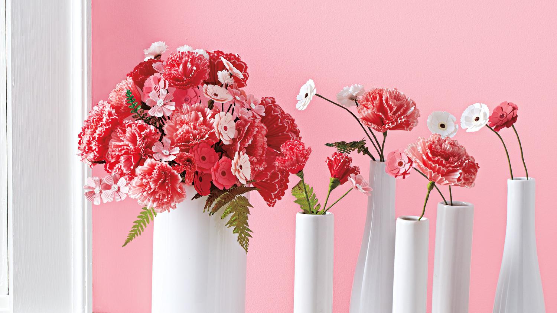 Детские поделки искусственные цветы