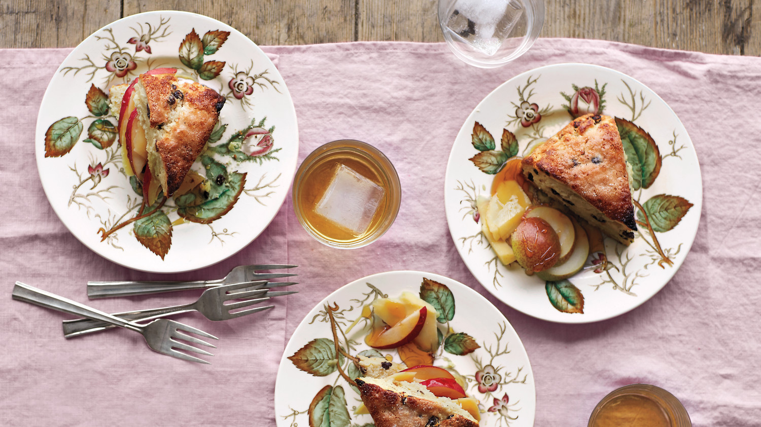 Scones with Pears, Irish Cheddar, and Honey Recipe | Martha Stewart