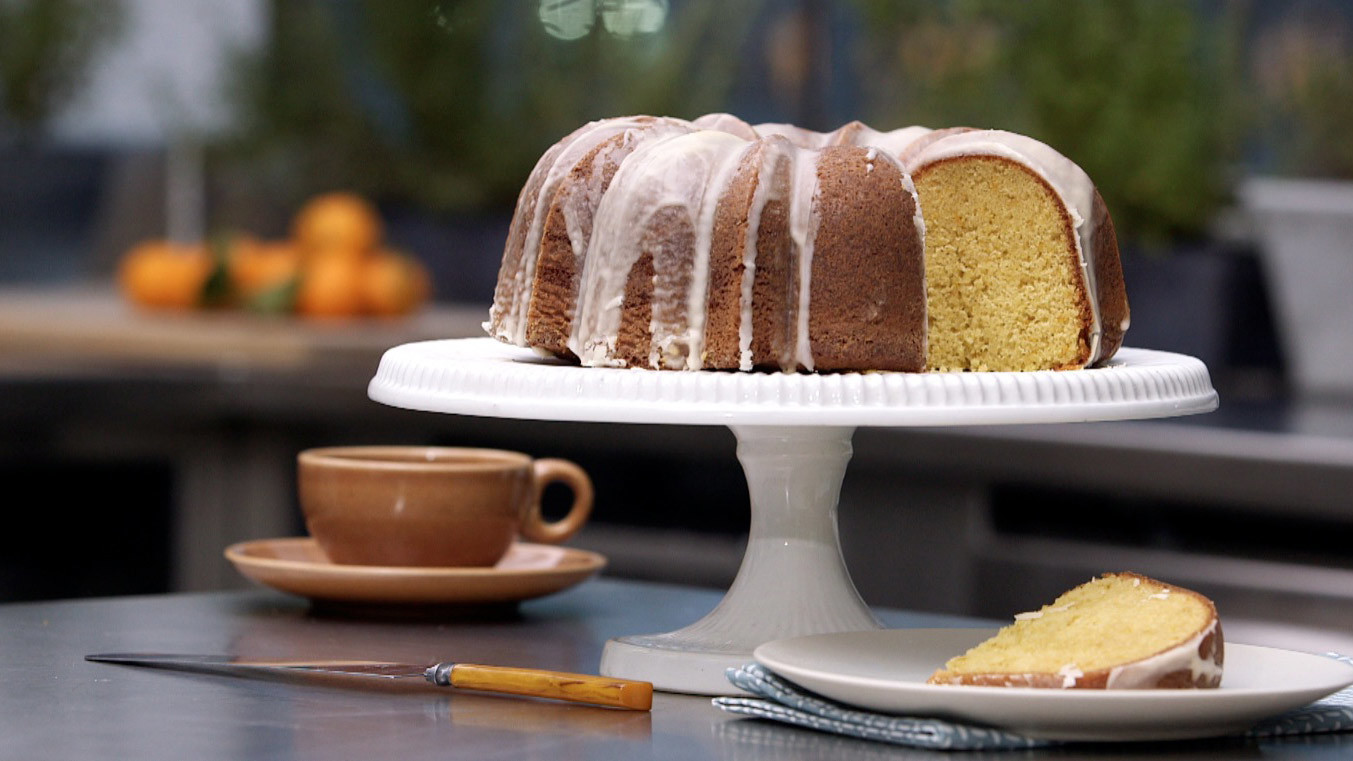 Video: Tangerine Cake with a Citrus Glaze | Martha Stewart