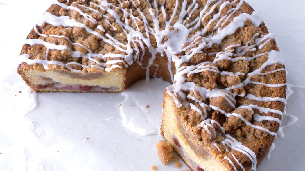 Martha Stewart Cherry Streusel Coffee Cake