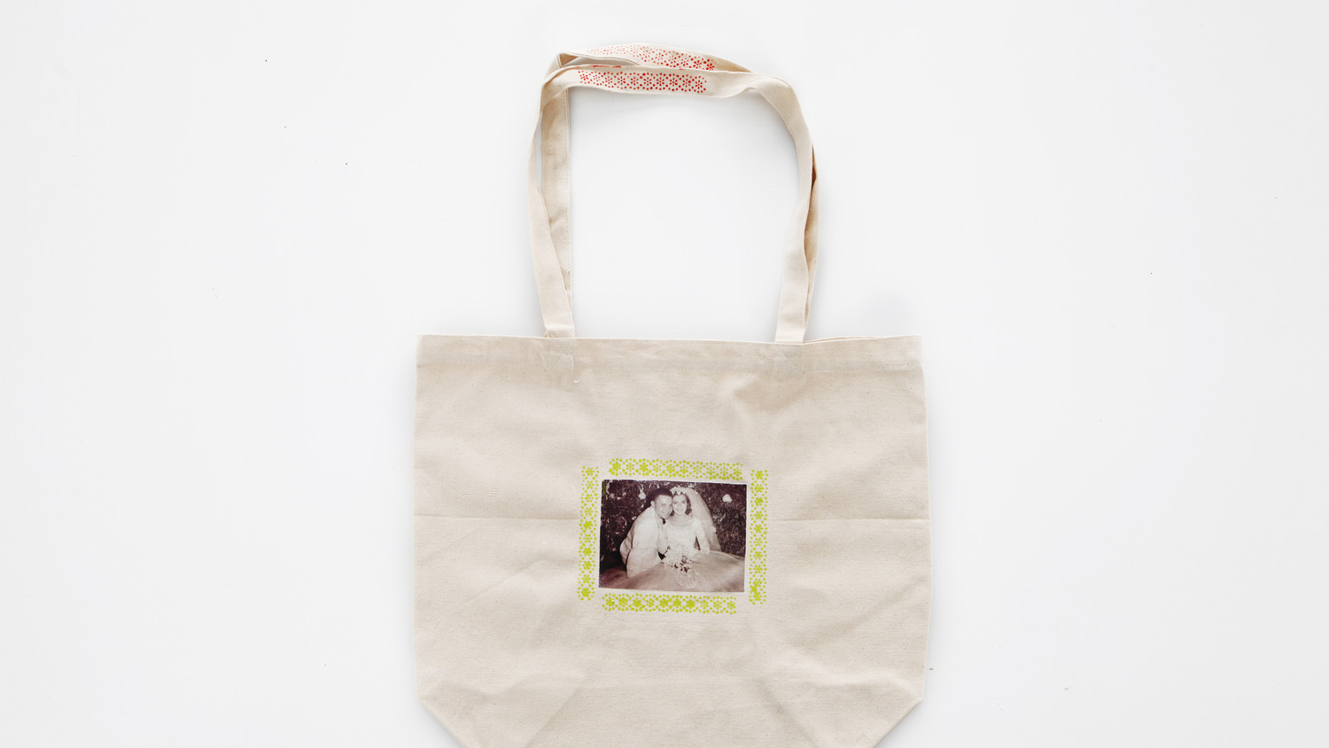 Personalized Photo Transfer Tote Bags Amp Video Martha Stewart