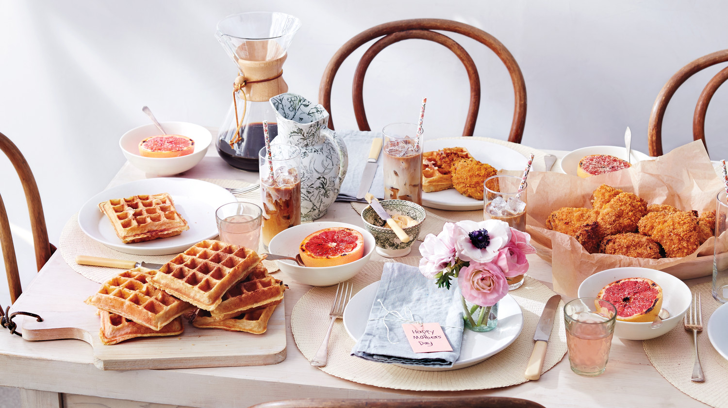 a southern inspired mother 39 s day brunch martha stewart. Black Bedroom Furniture Sets. Home Design Ideas