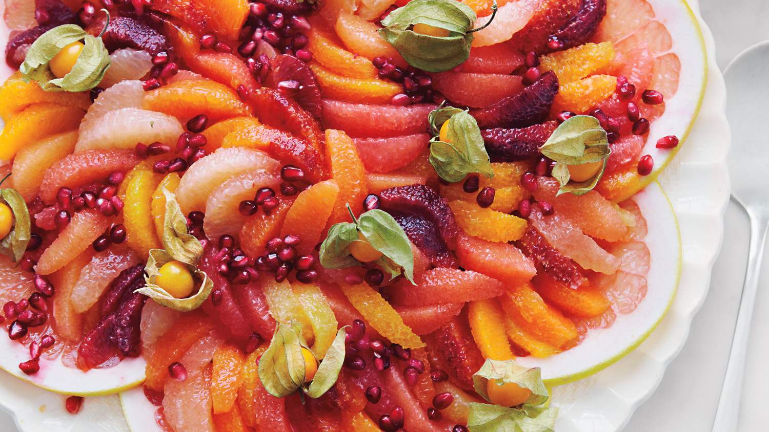 Citrus Salad With Pomegranate Seeds Recipe Martha Stewart