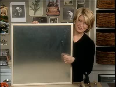 video using sheet metal magnetic bulletin board and drawer lining martha stewart