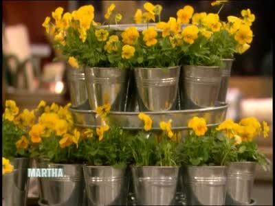 Video How To Make Stylish Flower Pot Stands Martha Stewart