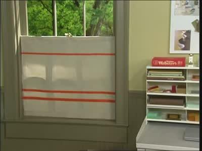Video How To Create A Cafe Curtain Martha Stewart
