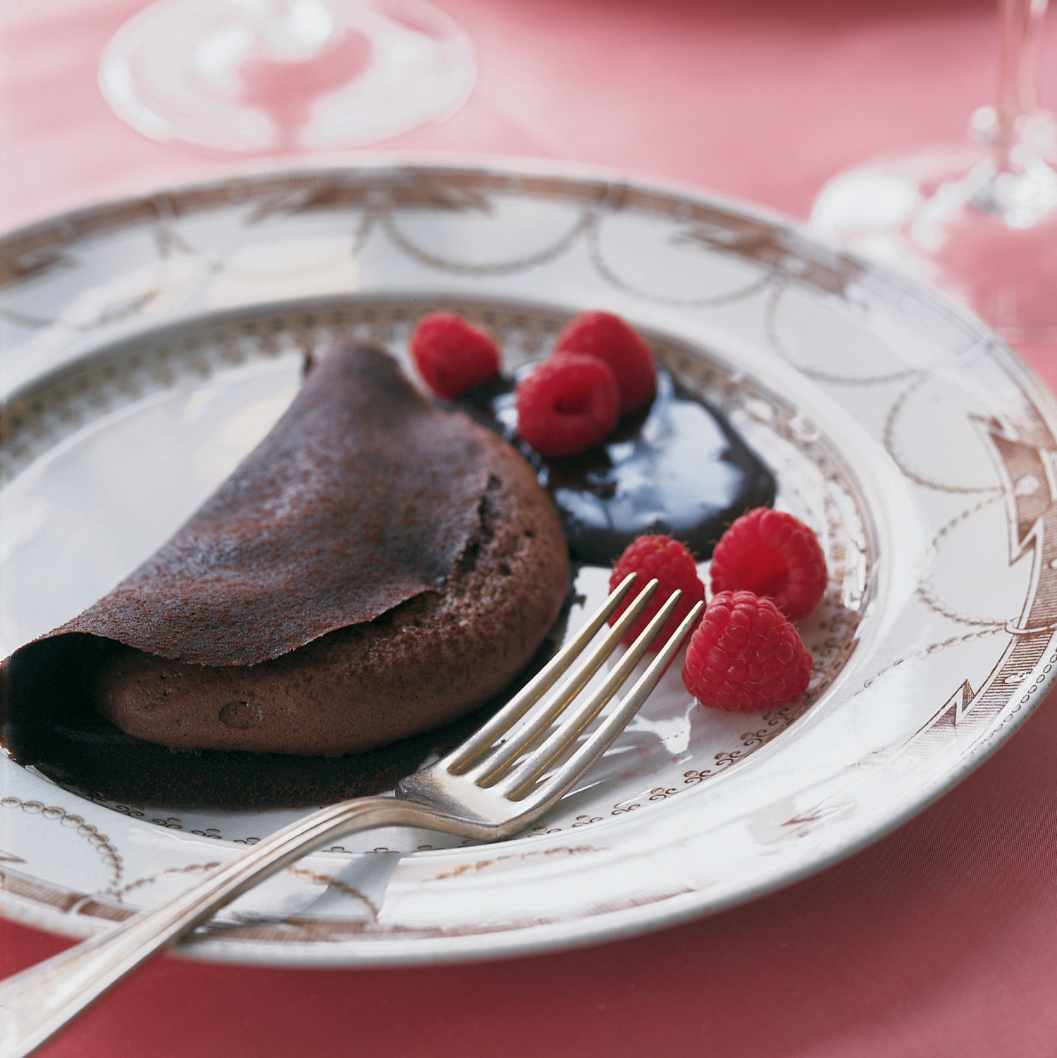 Dish Storage Ideas Chocolate Crepe Souffle Recipe Martha Stewart