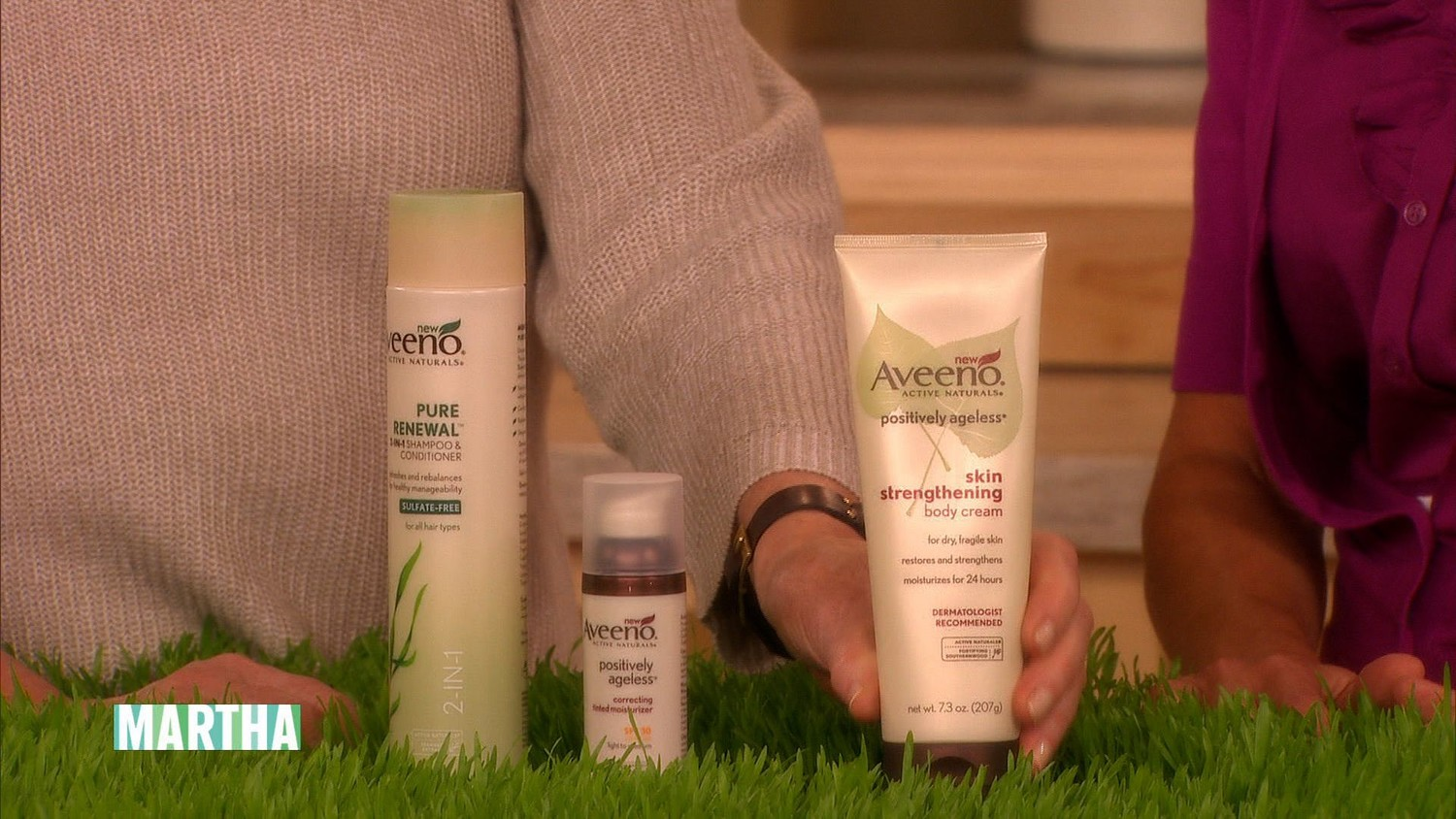 "Aveeno's ""Be an Active Natural"" Initiative"