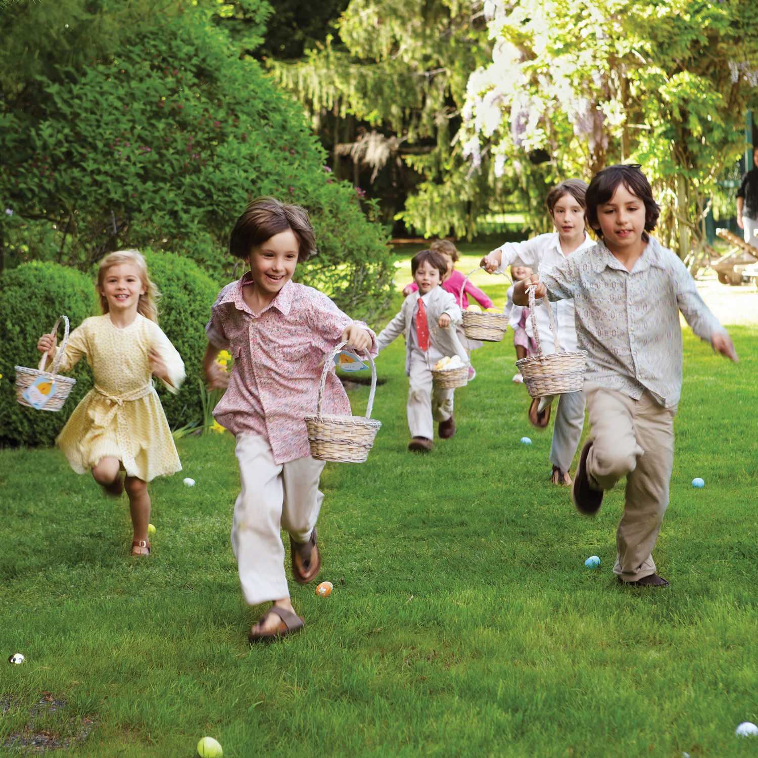 7 Easter Egg Hunt Games To Keep Lil' Bunnies Hoppy