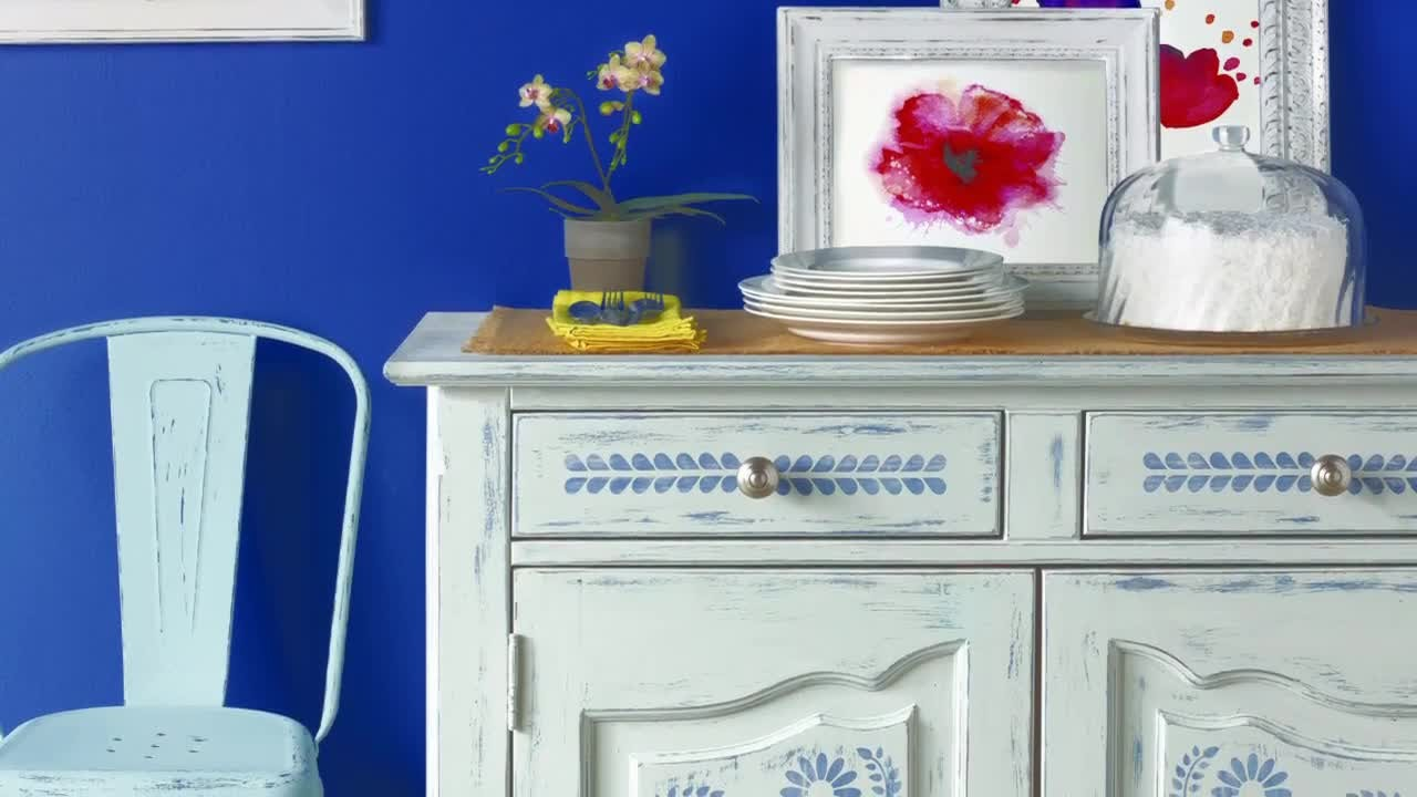 Video Vintage Decor Paint With Martha Stewart Martha