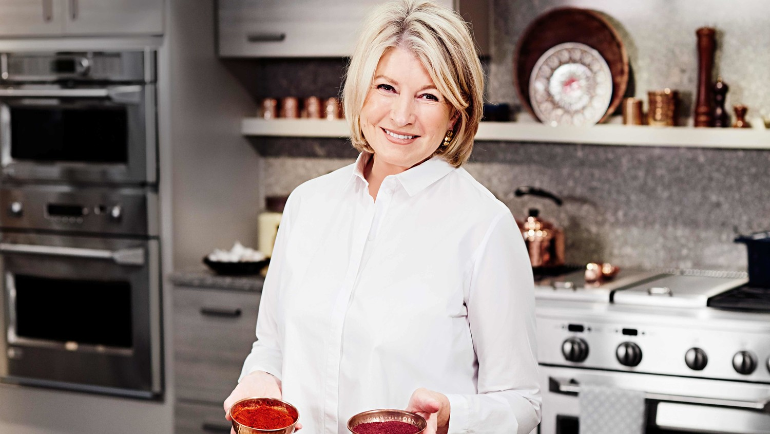 Catch Martha Cooking Breakfast Dishes From The Arabian