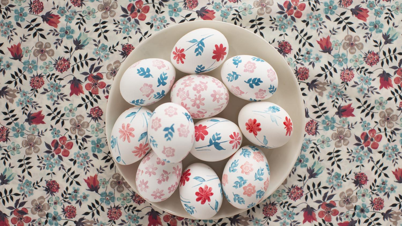 Video How To Liberty Print Easter Egg Designs Martha