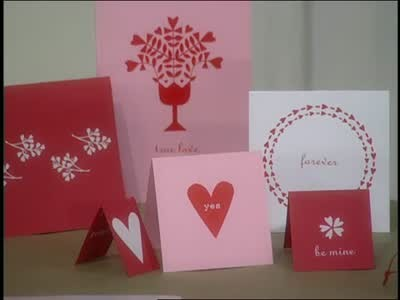 Video Professional Looking Valentines Day Cards – Martha Stewart Valentines Day Cards