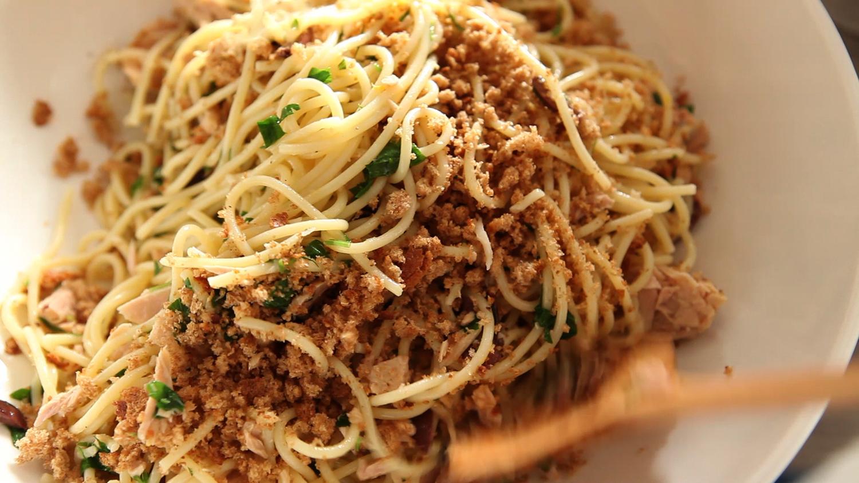 Grilled ratatouille pasta salad recipe