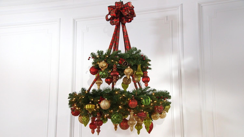 Video Ask Martha How To Make A Wreath Chandelier – Martha Stewart Chandelier