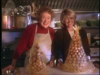 Video Julia Child And Martha Make Croquembouche Martha