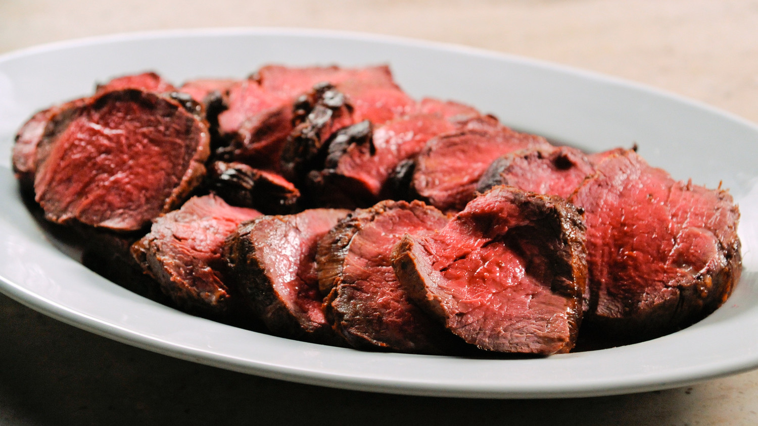 Peppercorn Crusted Beef Tenderloin