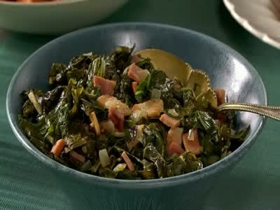 Video Southern Collard Greens With Bacon And Ham Martha