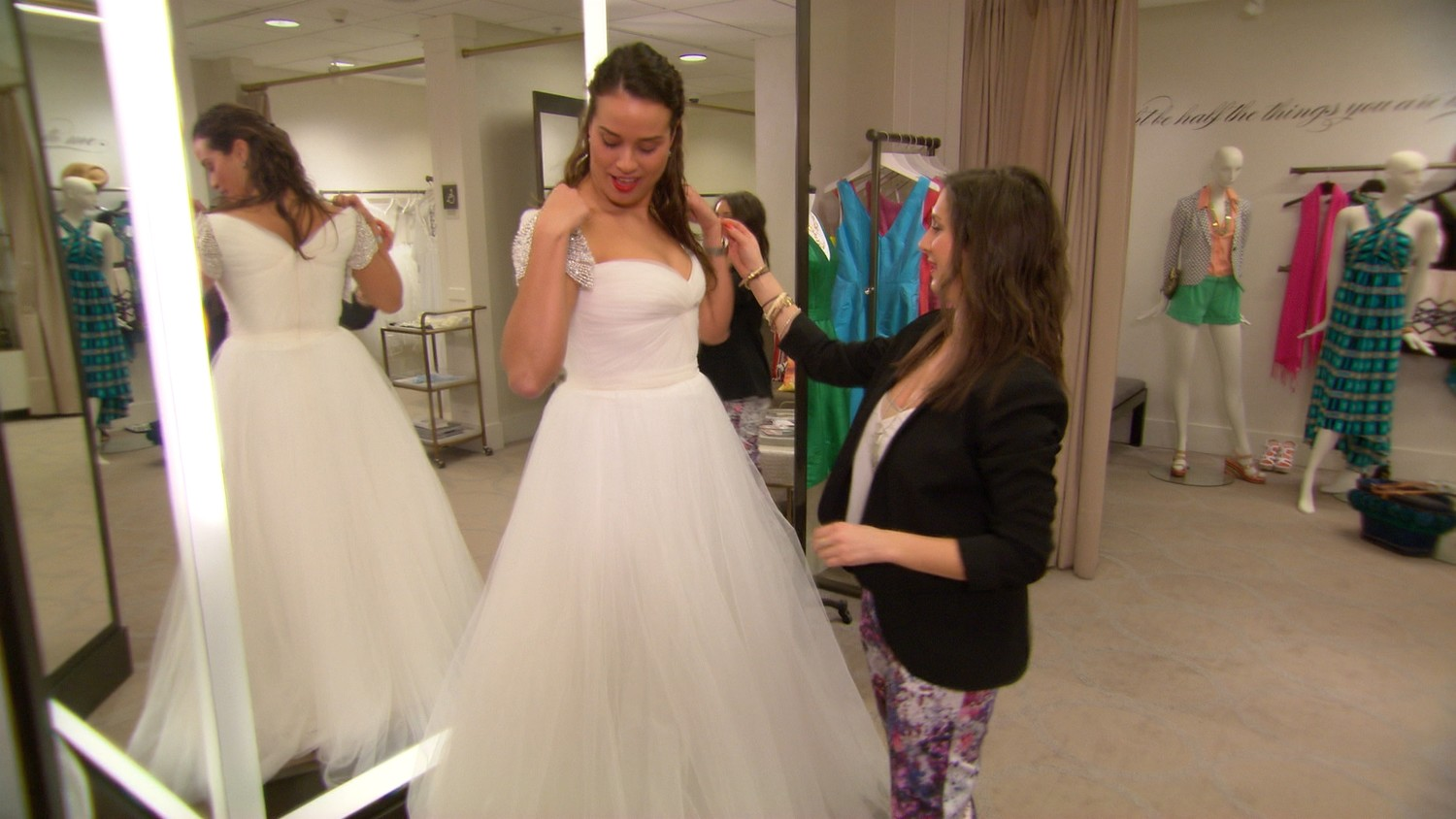 the wedding suite experience at nordstrom now playing