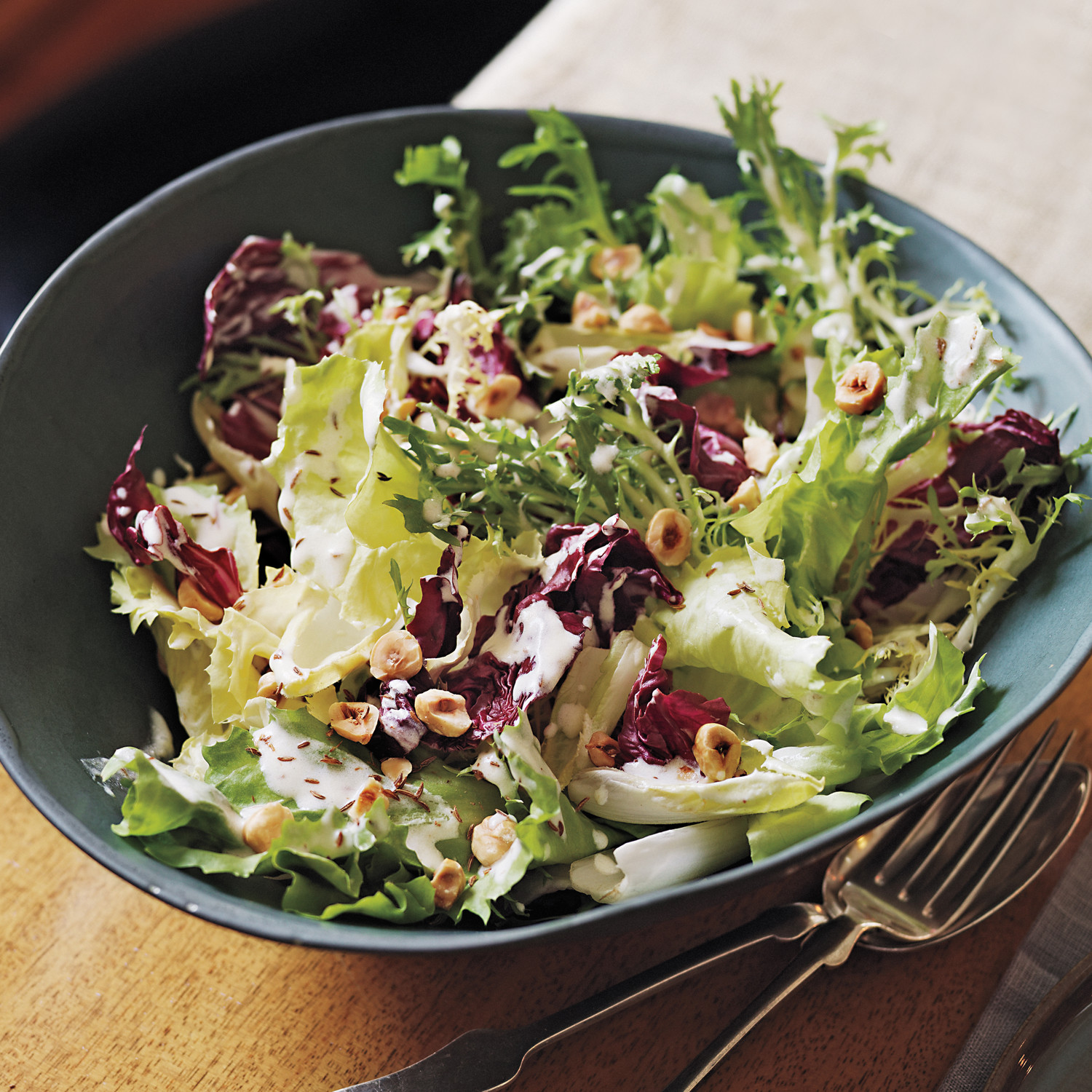 Chicory Salad With Meyer Lemon Dressing Recipe Martha