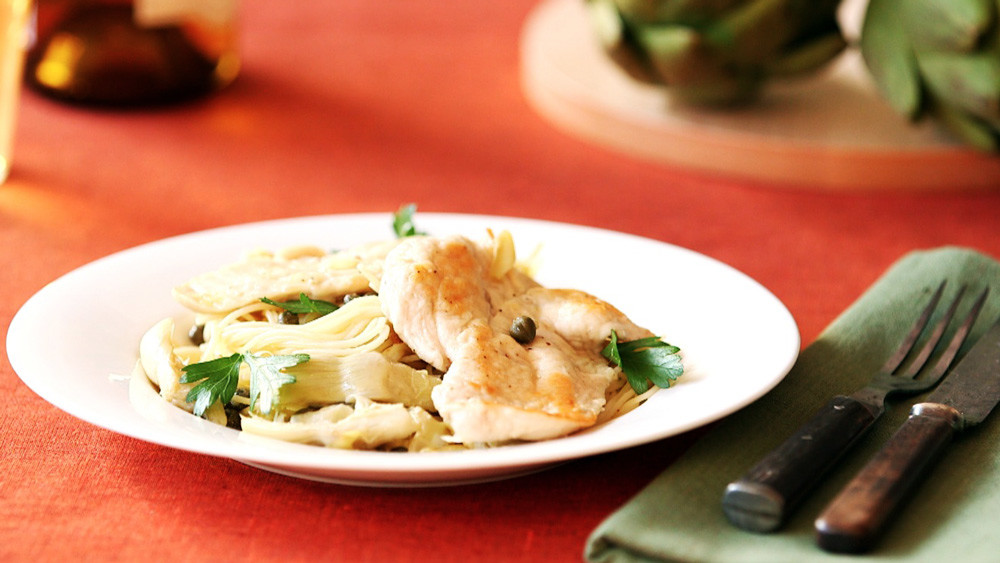 Video: Chicken With Artichokes And Angel Hair Pasta | Martha Stewart