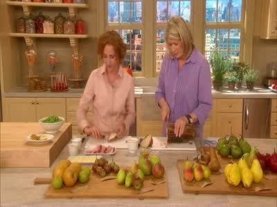 Video: Grilled Pressed Ham, Cheese and Pear Sandwich. | Martha Stewart