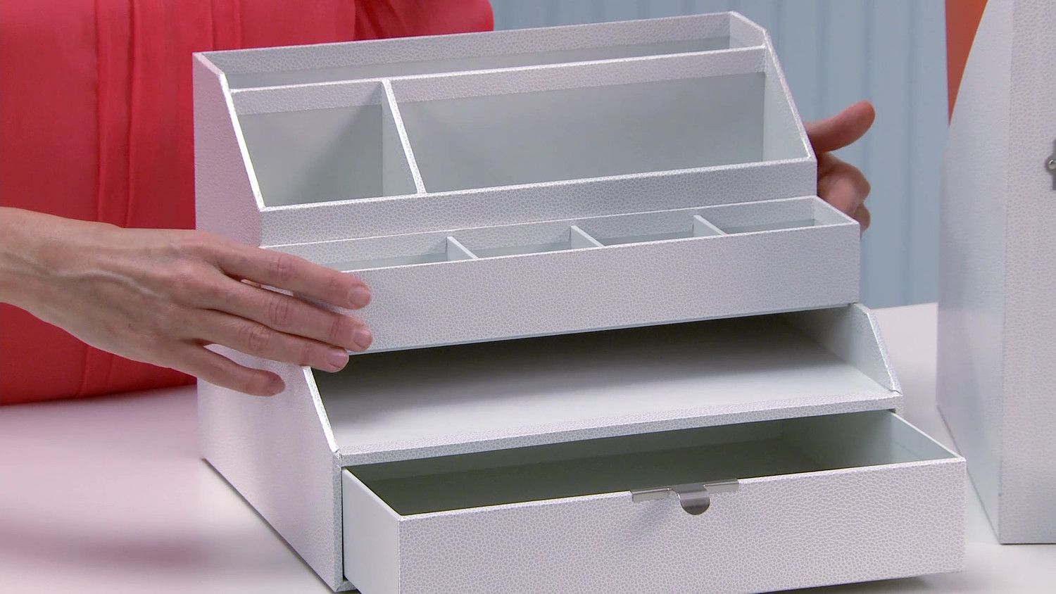 video: martha stewart home office desk accessories | martha stewart