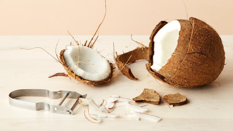 The Best Way To Crack Open A Coconut Martha Stewart