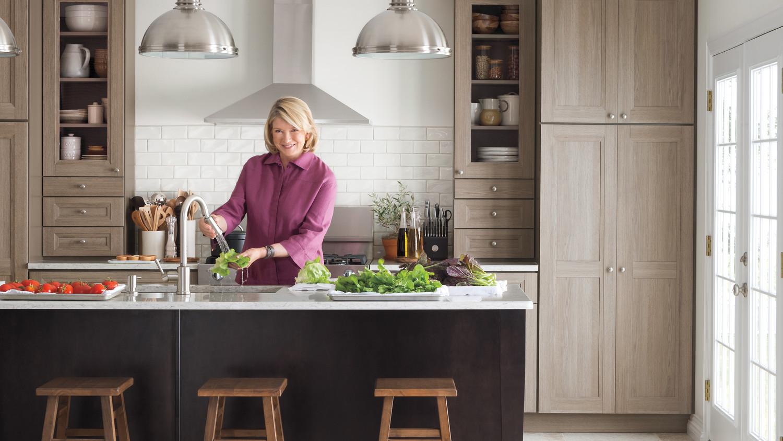 Attractive Video: Martha Stewart Talks PureStyle Kitchen Cabinets | Martha Stewart