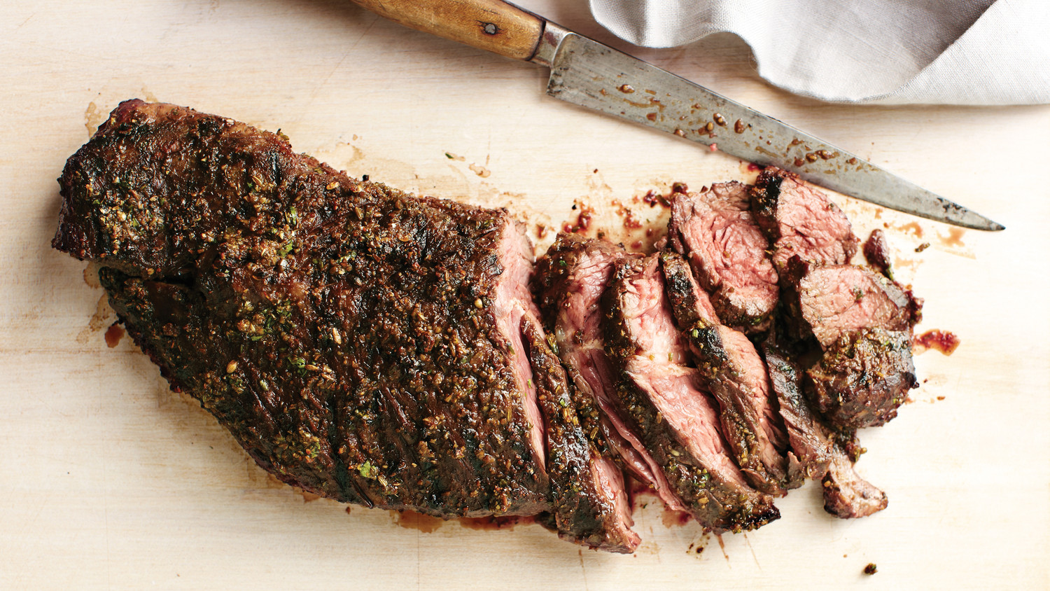 Spice-Crusted Grilled Hanger Steak Recipe | Martha Stewart