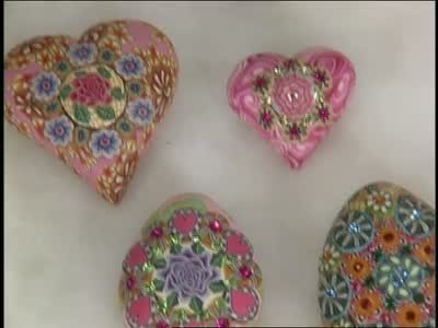Video How To Make Different Polymer Clay Bead Patterns