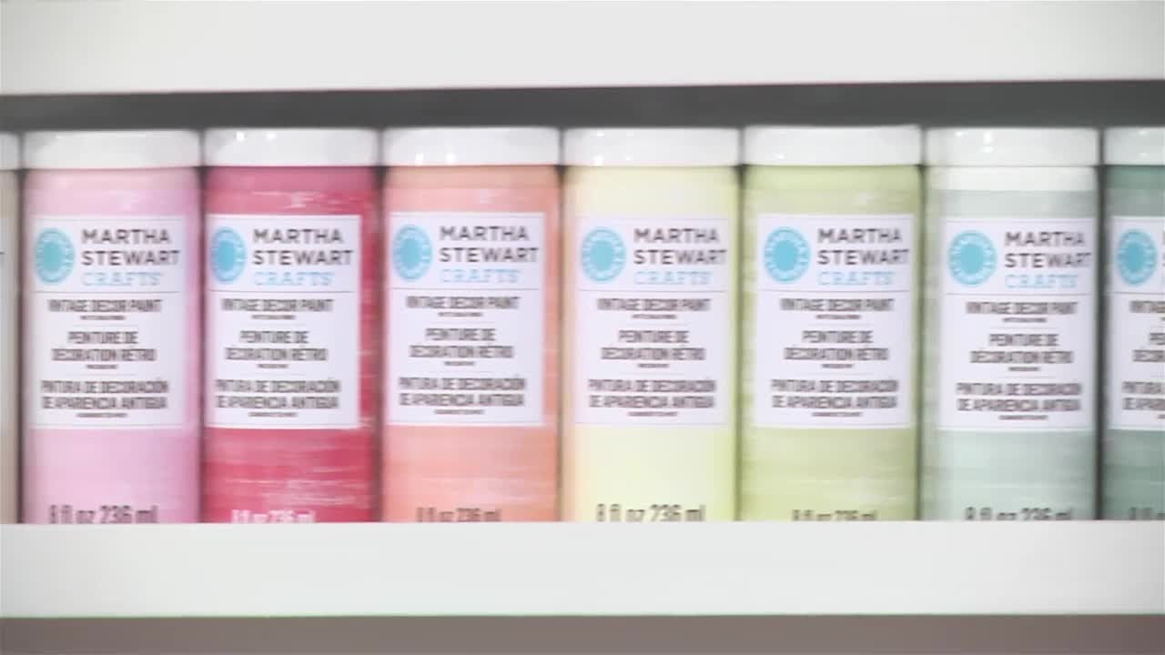 Video Stenciling With Martha Stewart 39 S Vintage Decor Paint Martha Stewart