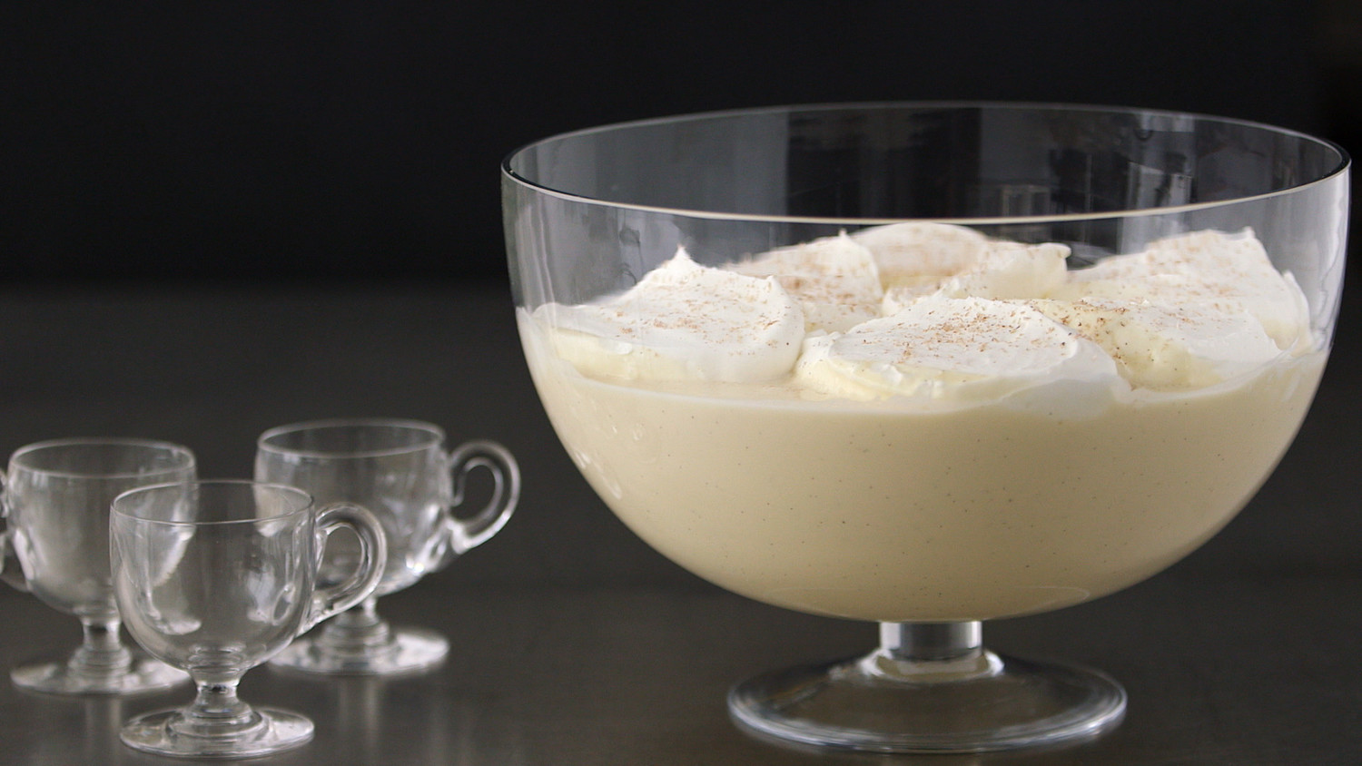 Martha's Classic Eggnog Recipe — Dishmaps