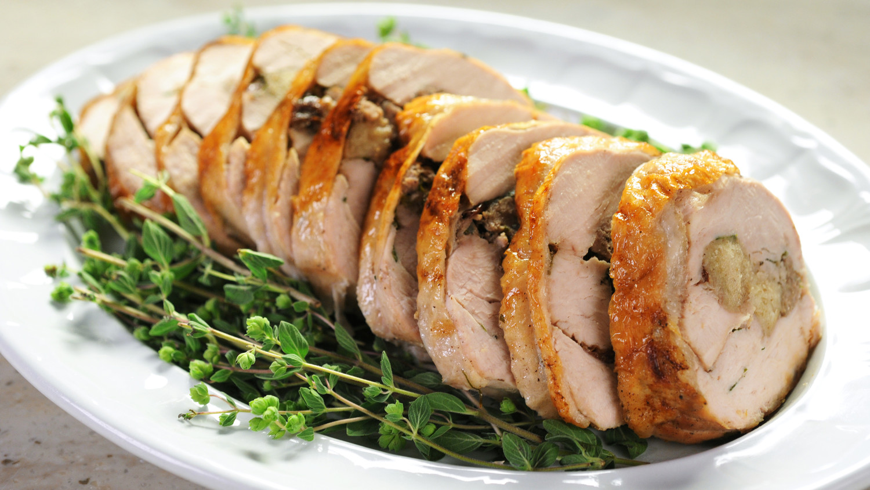 Stuffed Turkey Breast Recipe | Martha Stewart