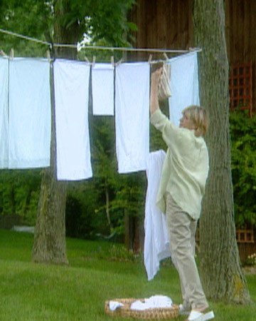 Rigging A Clothesline Martha Stewart