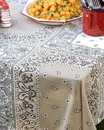 Bandanna Tablecloth Martha Stewart