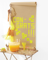 Host a Neon-Themed Graduation Party